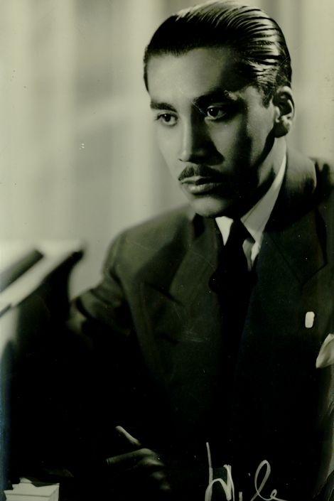 Vicente Bianchi en circa 1940.