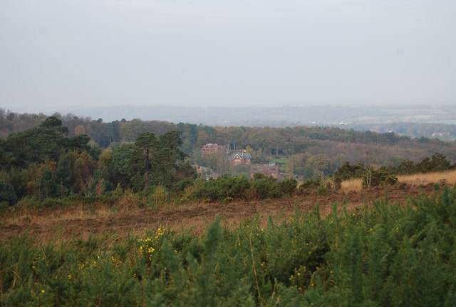 View NW from the Wealdway - geograph.org.uk - 1584531