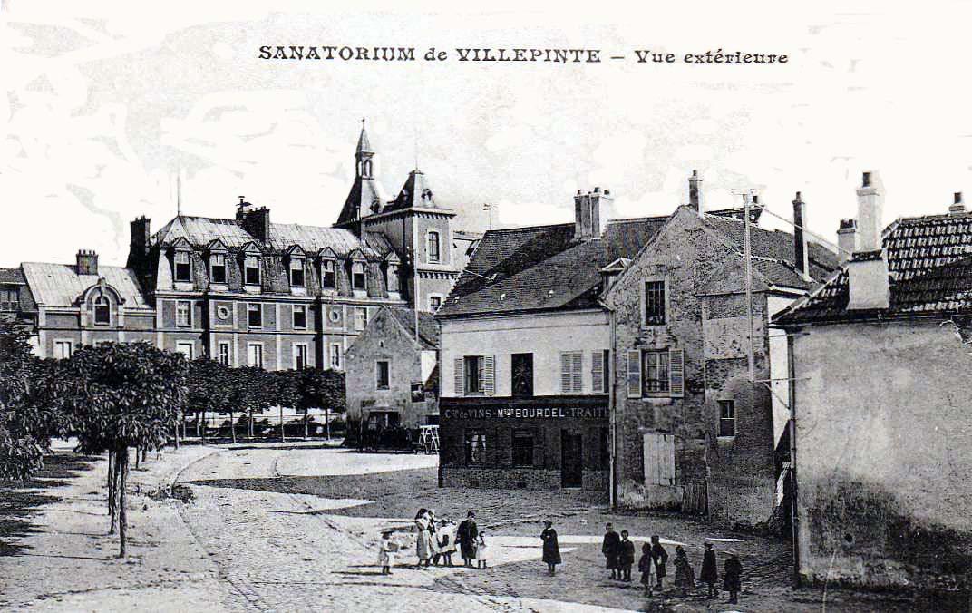 File villepinte sanatorium de villepinte vue for Piscine de villepinte