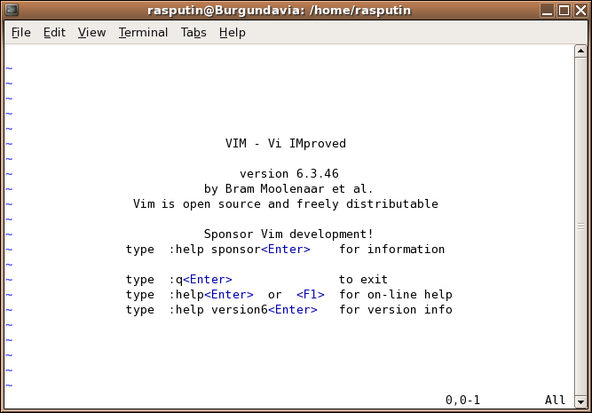 """Vim """"Vi IMproved"""" has yet more features than vi, including (scriptable) syntax highlighting, mouse support, graphical versions, and much more."""