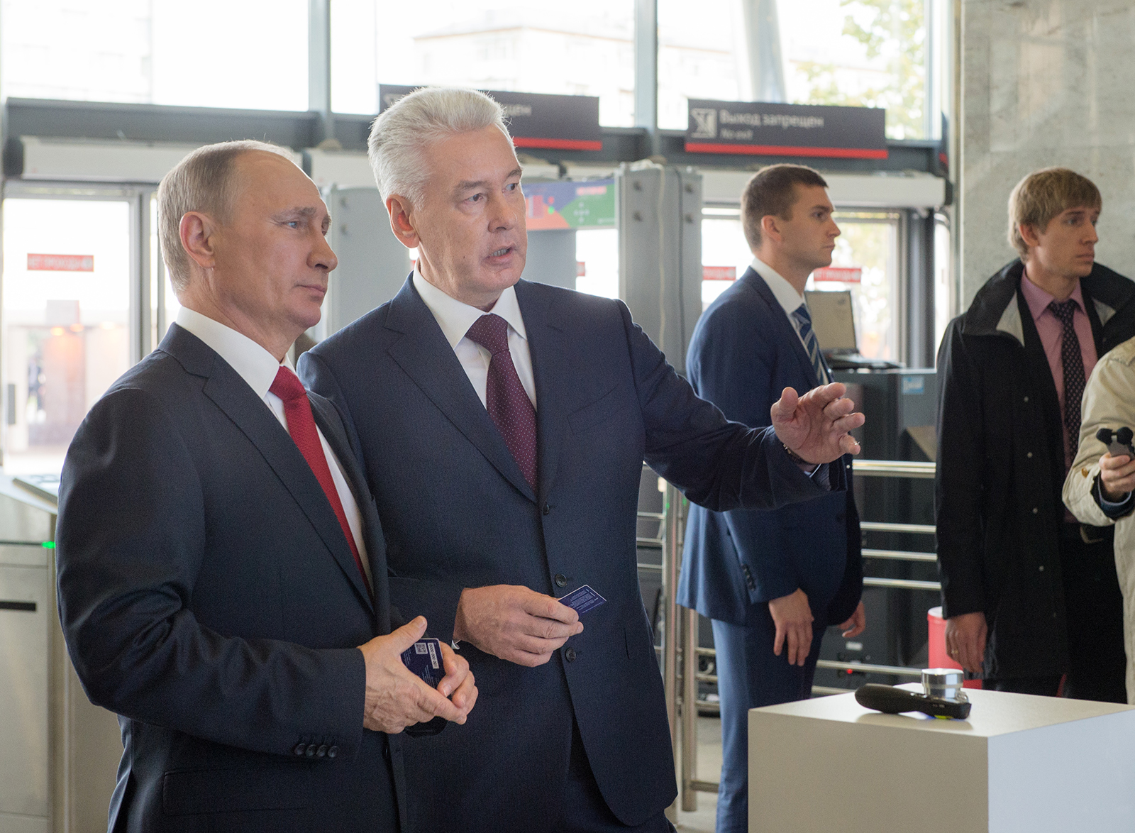 Sergey Sobyanin dissatisfied with the work of engineering services 17