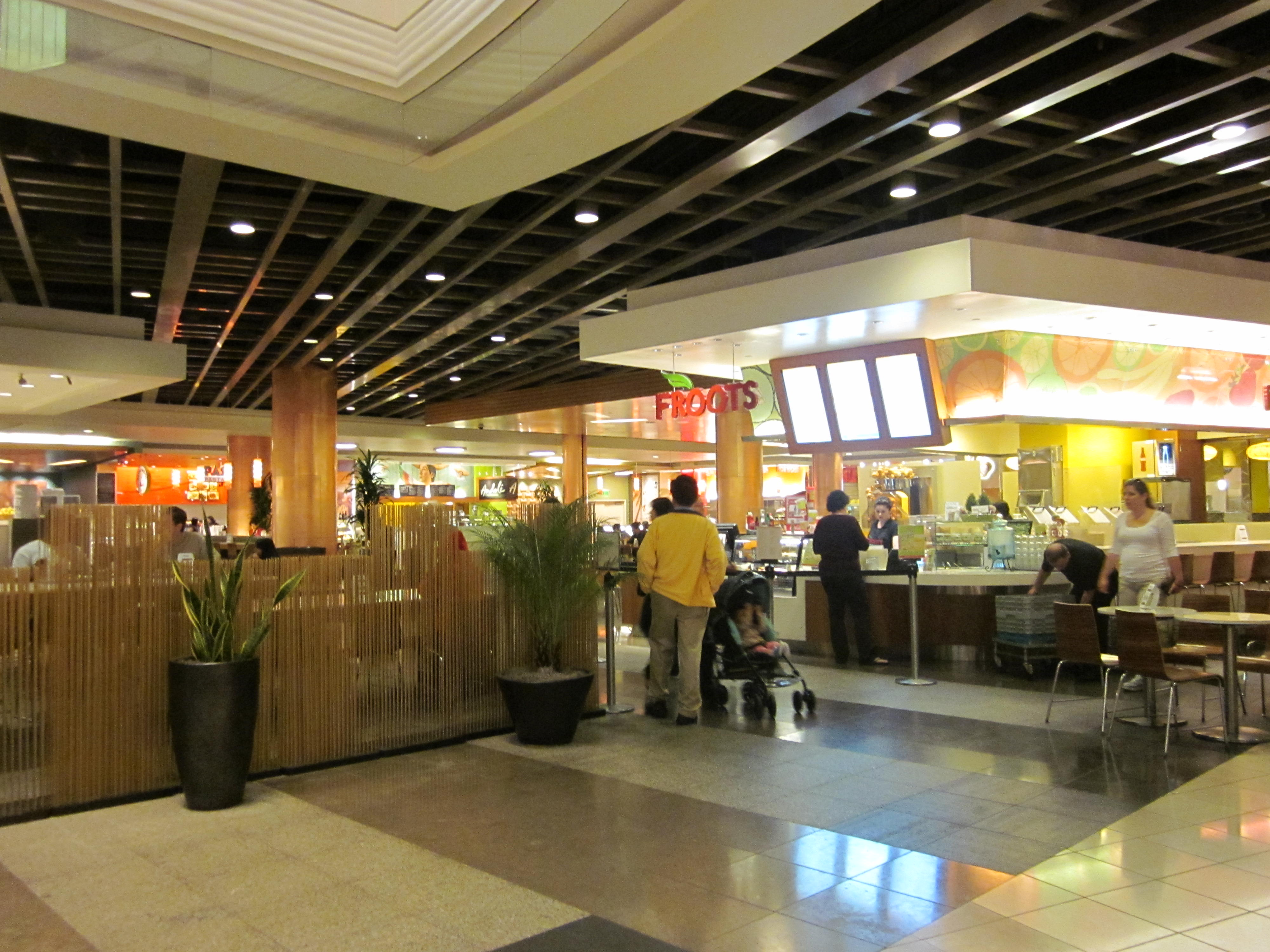 Westfield Mall Food Court Sf