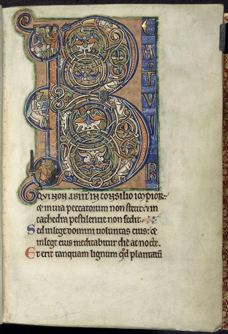 Beatus vir (Westminster Psalter)
