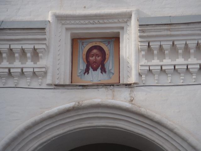 Надвратная икона Никольской надвратной церкви Трифонова монастыря