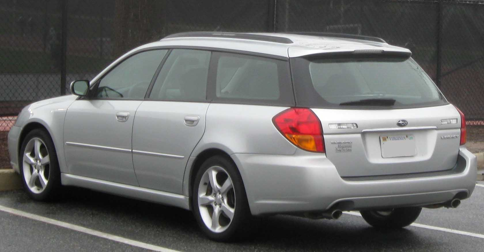 File:05-07 Subaru Legacy wagon.jpg - Wikimedia Commons