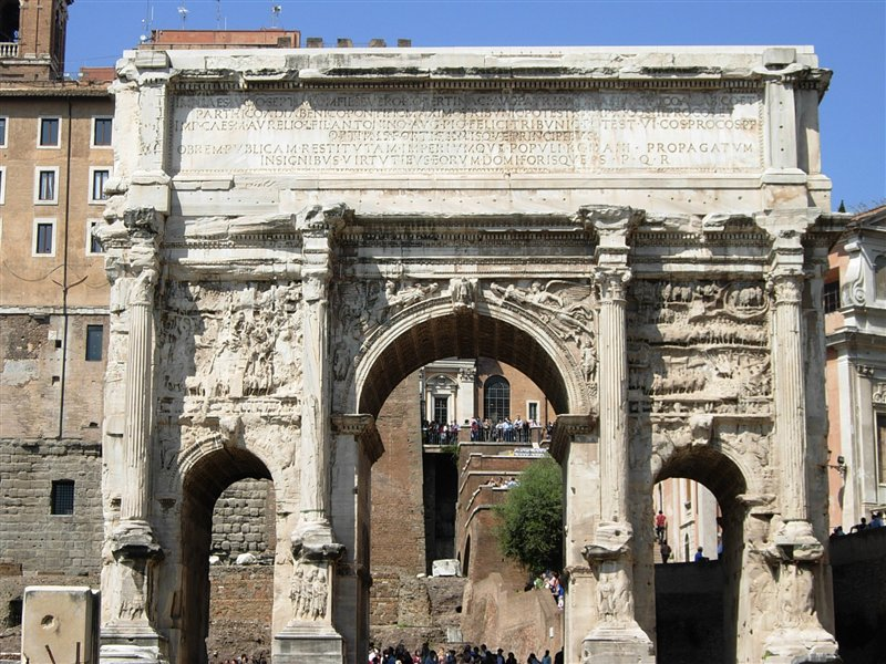 The gallery for --> Arch Of Septimius Severus Drawing