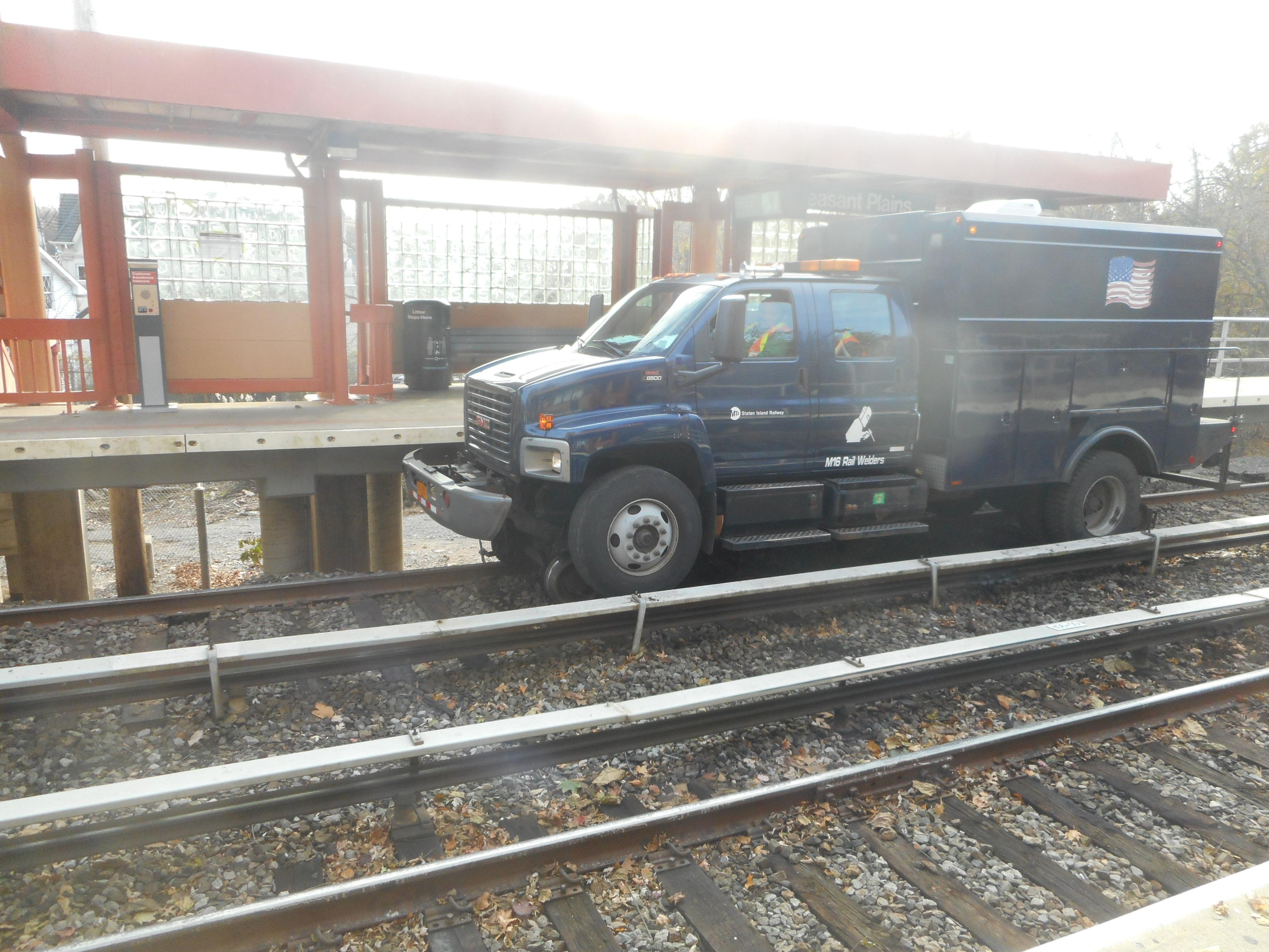 Pleasant Plains Staten Island Train Stationisland Hopping Caribbean Ferry