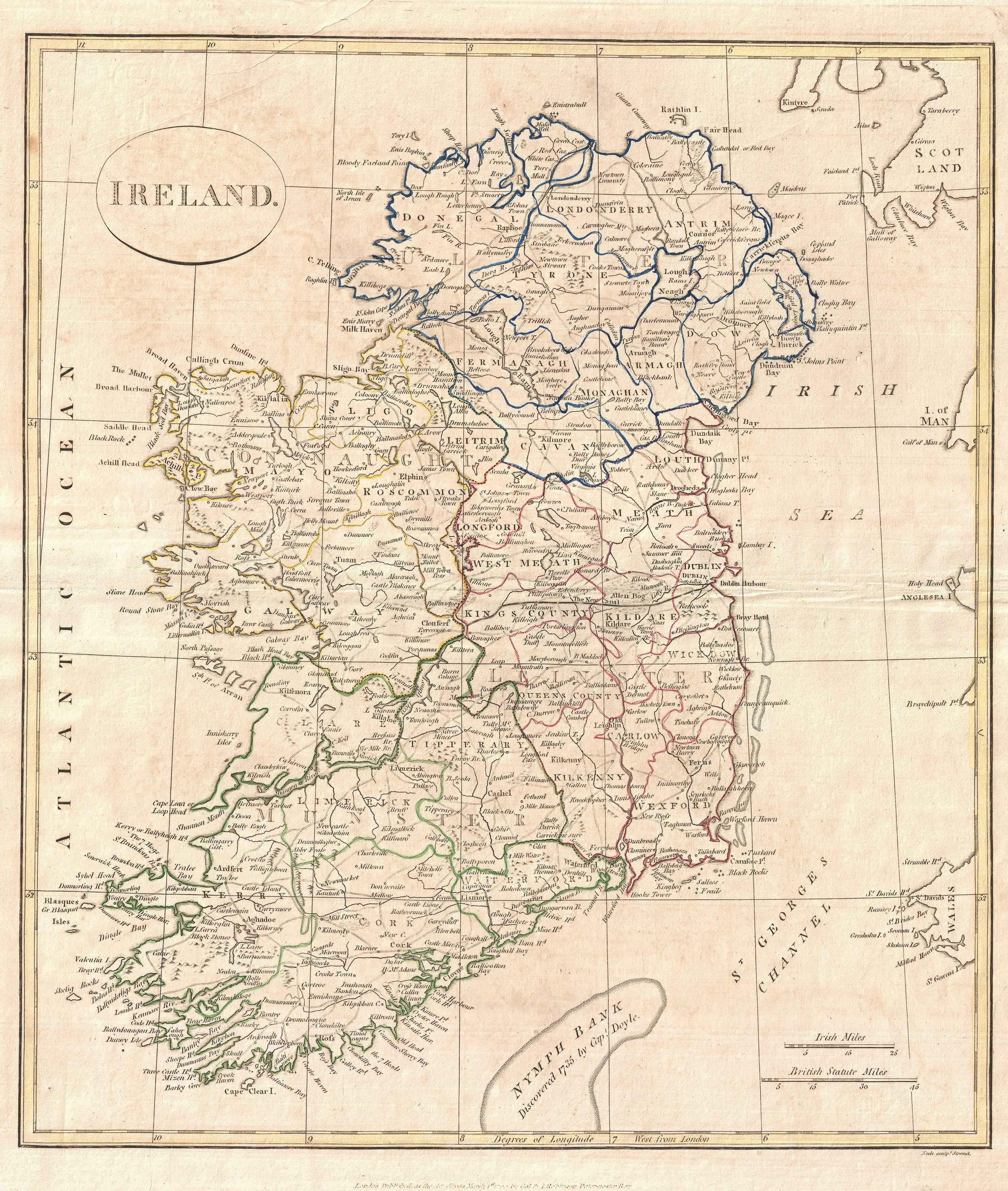 Map Of Ireland Jpg.File 1799 Clement Cruttwell Map Of Ireland Geographicus Ireland