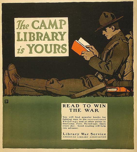 1917 CampLibrary byCBFalls ALA LC