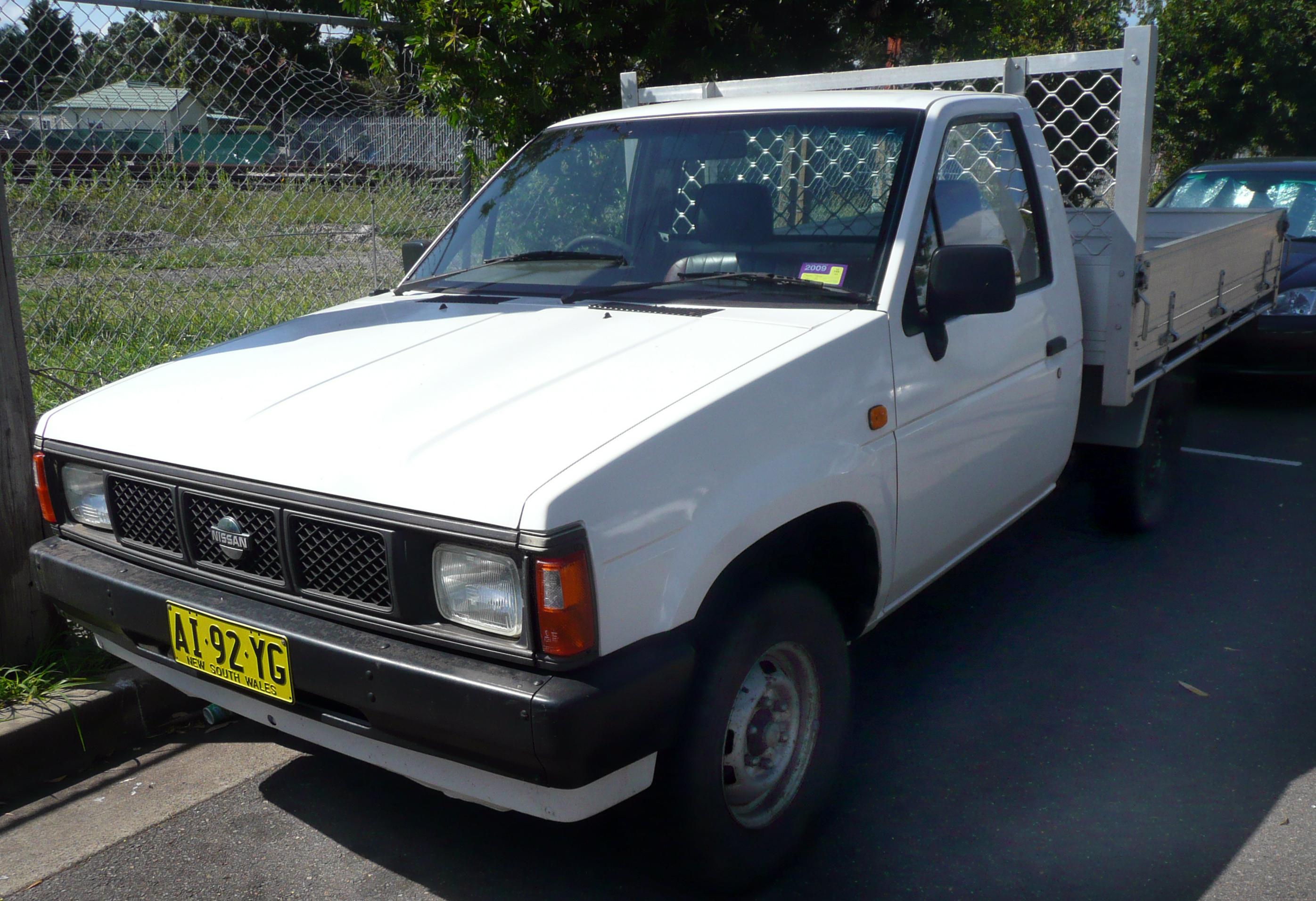 File 1988 Nissan Navara D21 2 Door Cab Chassis 2008 12