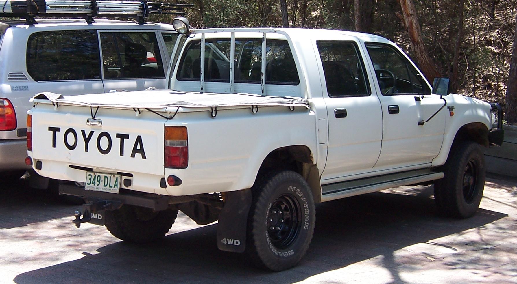 1997 Nissan Truck For Sale Description 1990-1997 Toyota Hilux (LN106R) DX 4-door utility (2007-09 ...