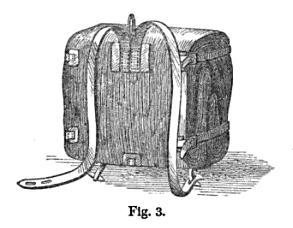 19th century knowledge hiking and camping sheepskin knapsack sleeping bag rolled up.jpg