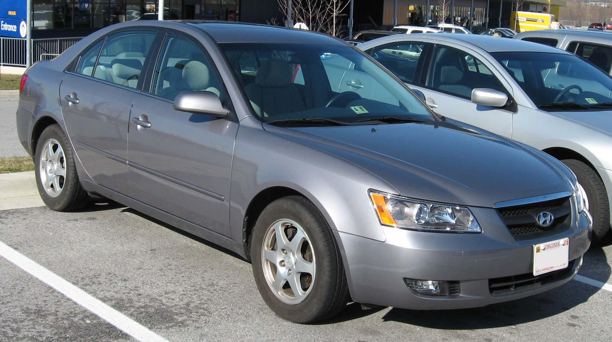File 2006 07 Hyundai Sonata Jpg Wikimedia Commons
