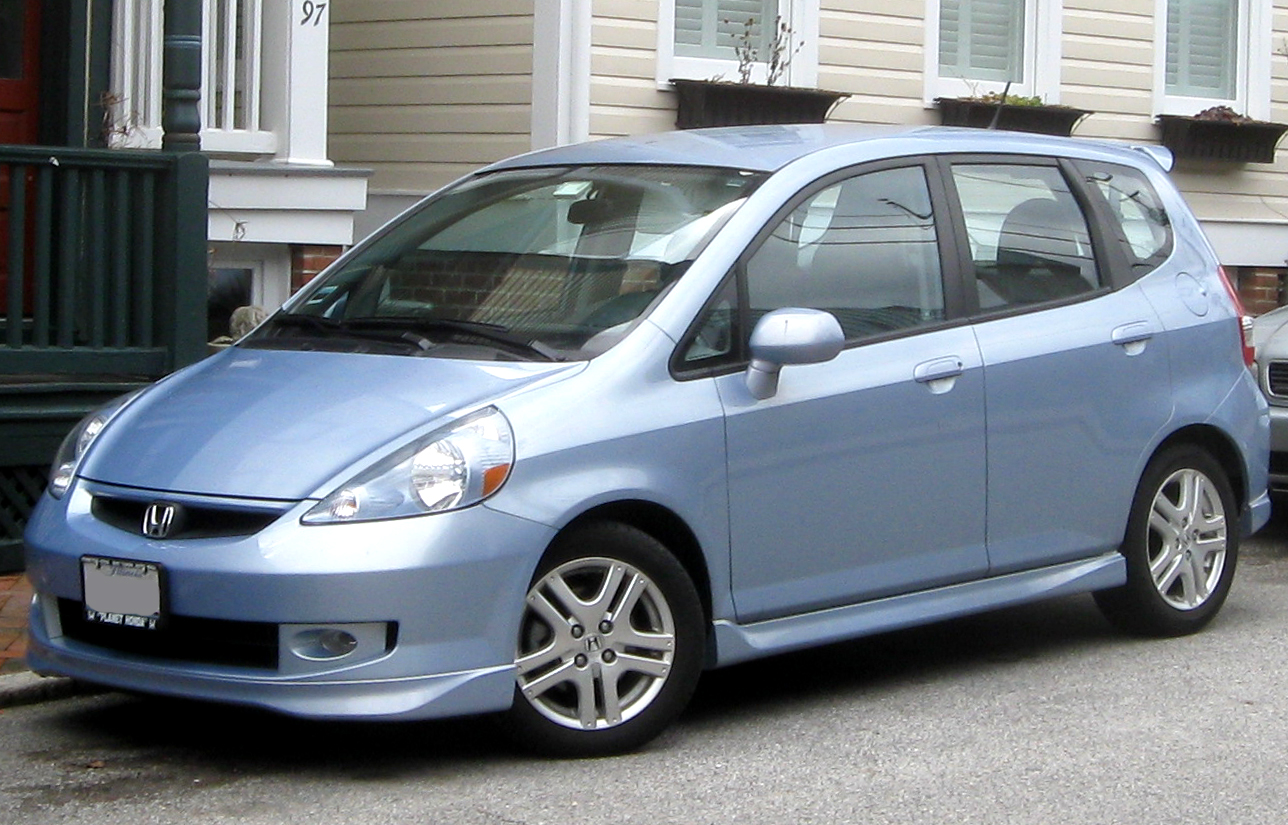 Superb File:2007 2008 Honda Fit Sport    01 28 2010.