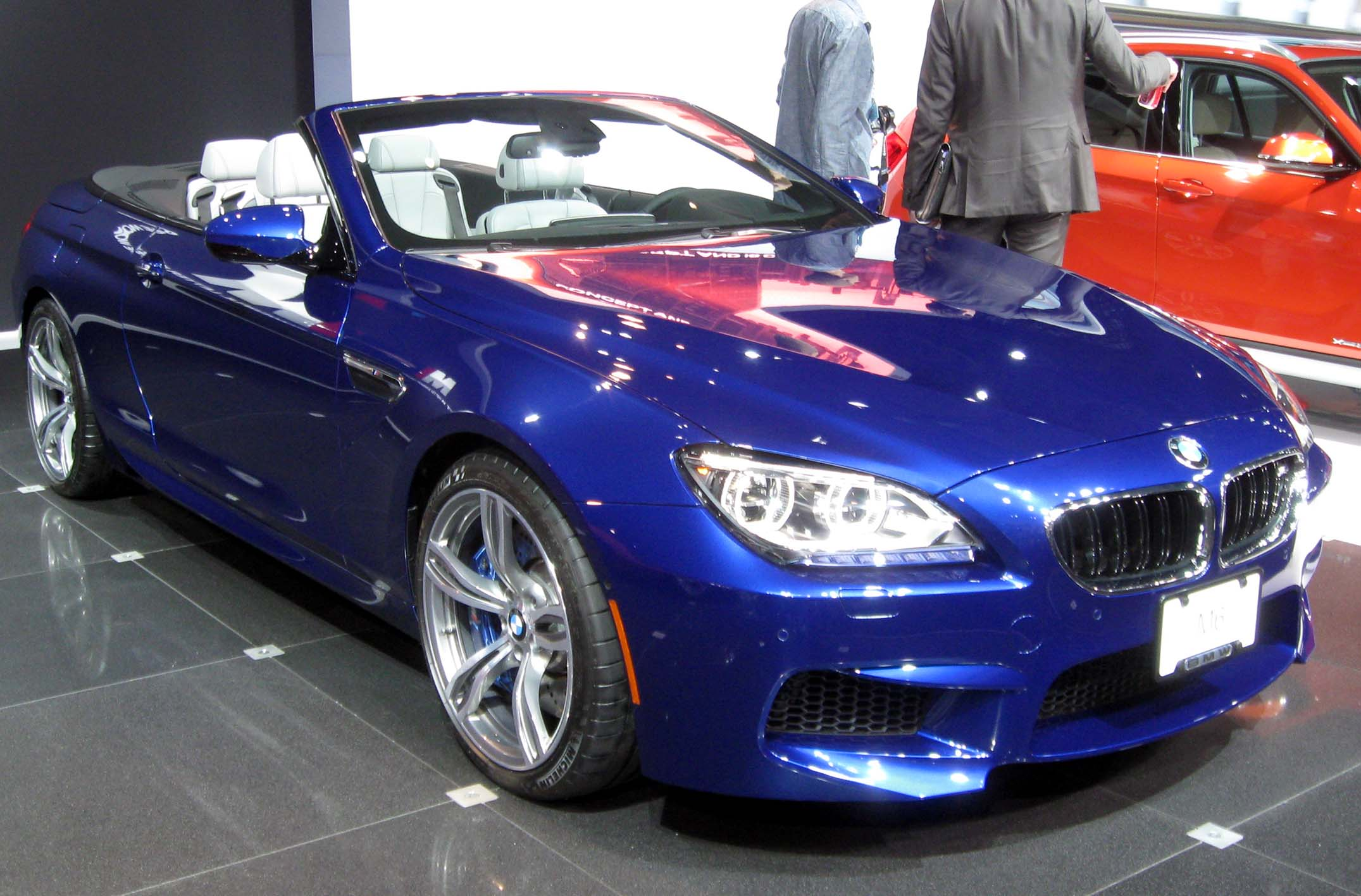 File:2012 BMW M6 convertible -- 2012 NYIAS.JPG
