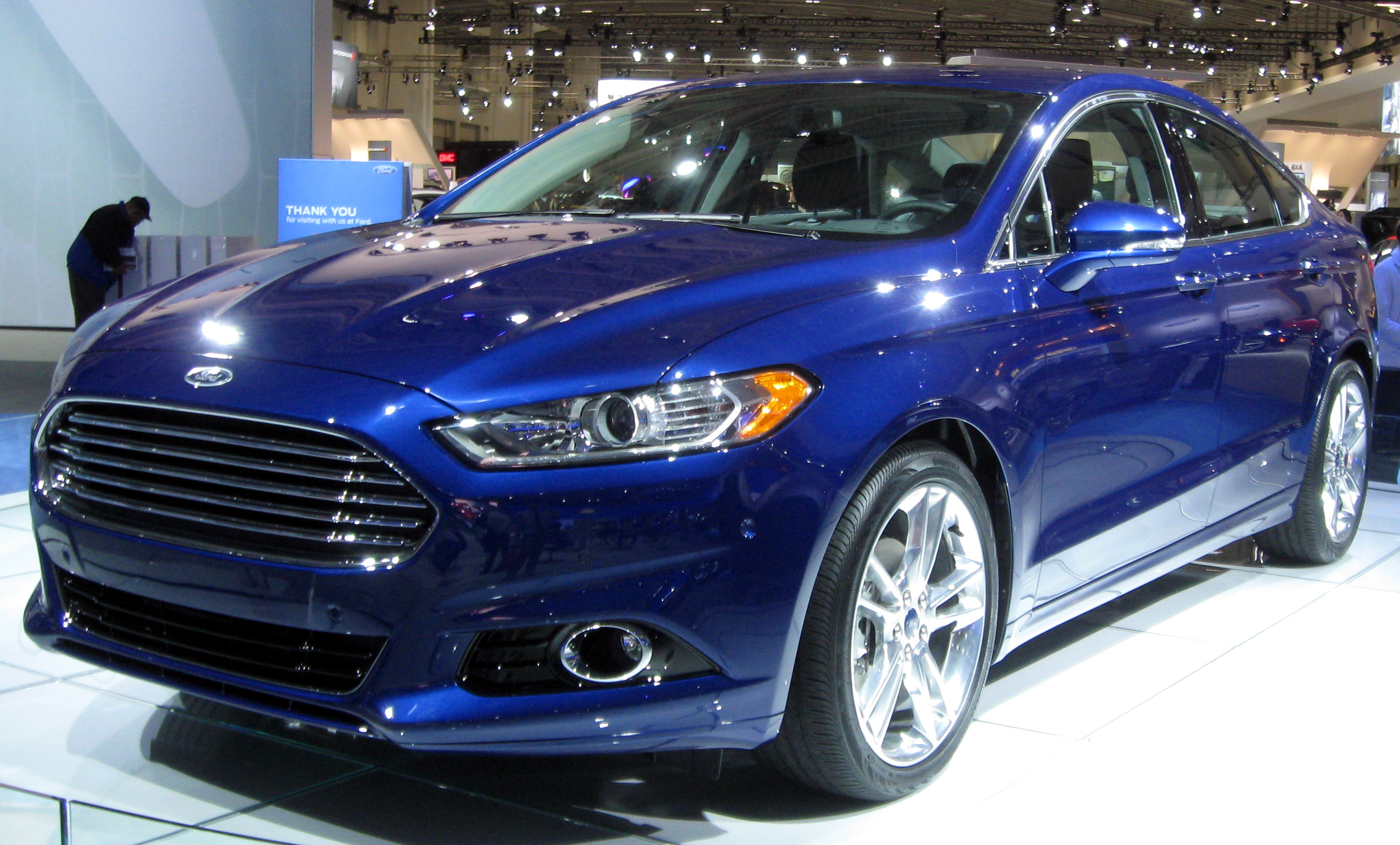 File 2013 Ford Fusion 2012 Dc 2 Jpg Wikimedia Commons