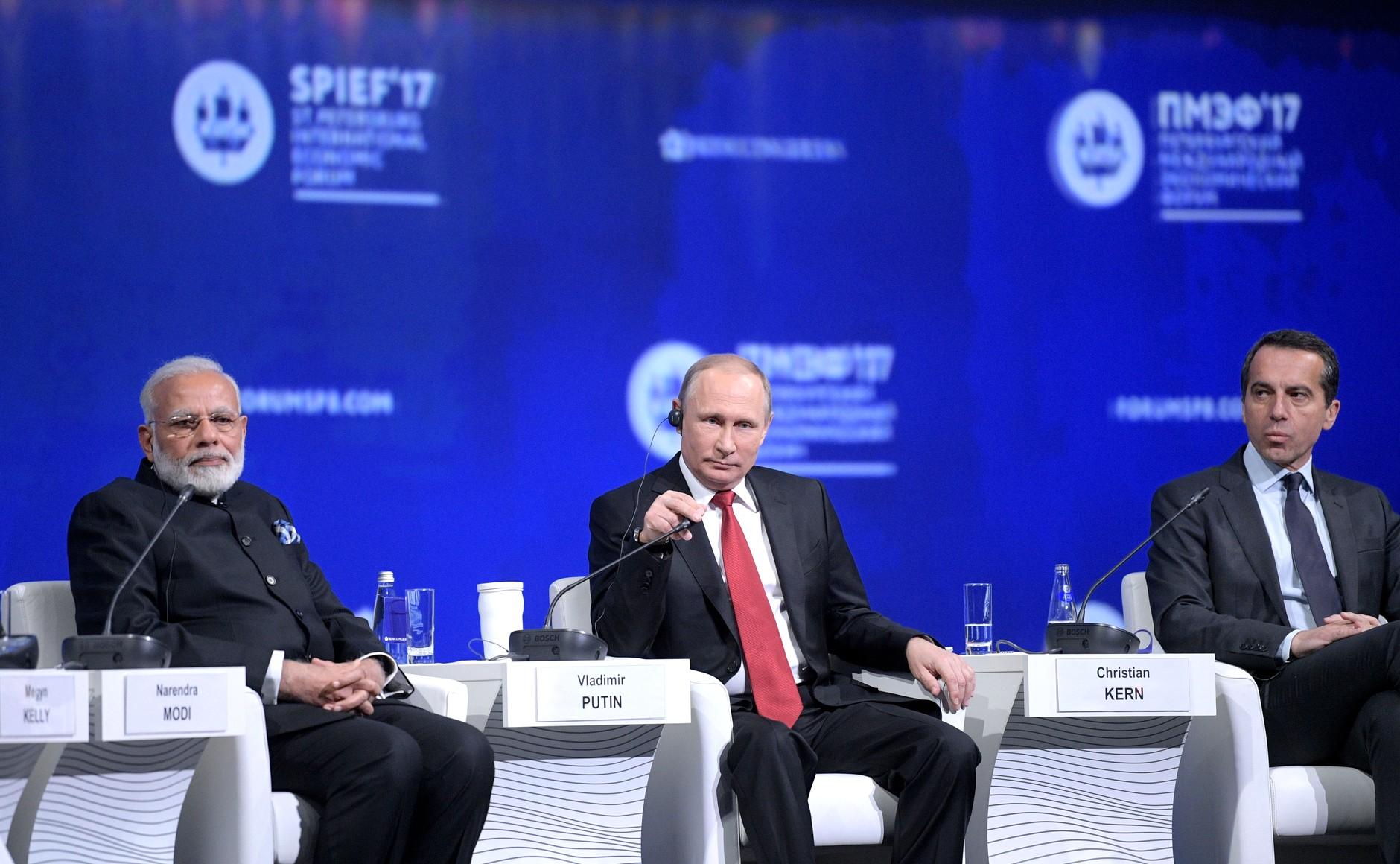 """Résultat de recherche d'images pour """"economic forum of Saint-Pétersburg, 2017"""""""