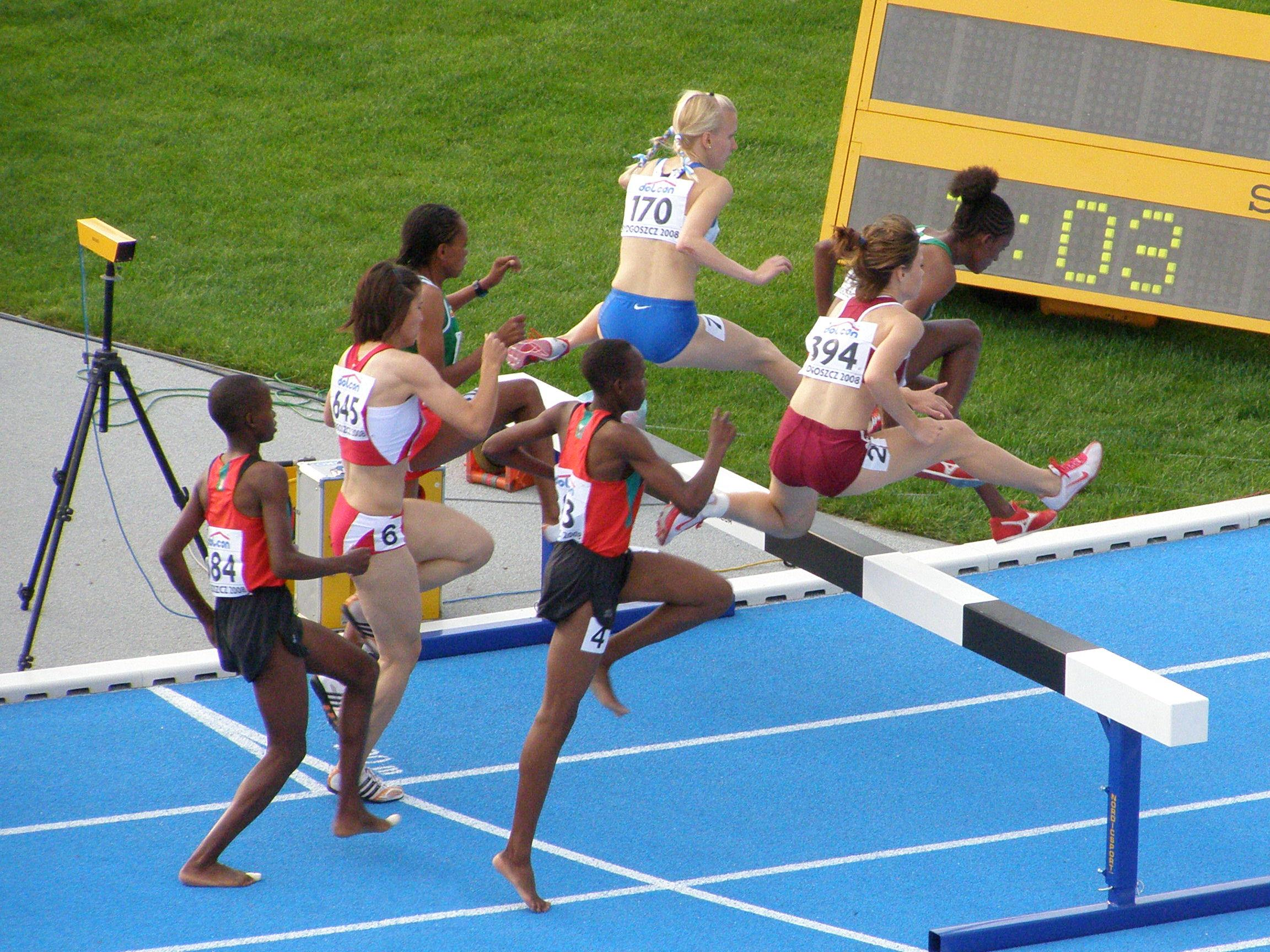 Steeplechase (athletics) - Wikipedia, the free encyclopedia
