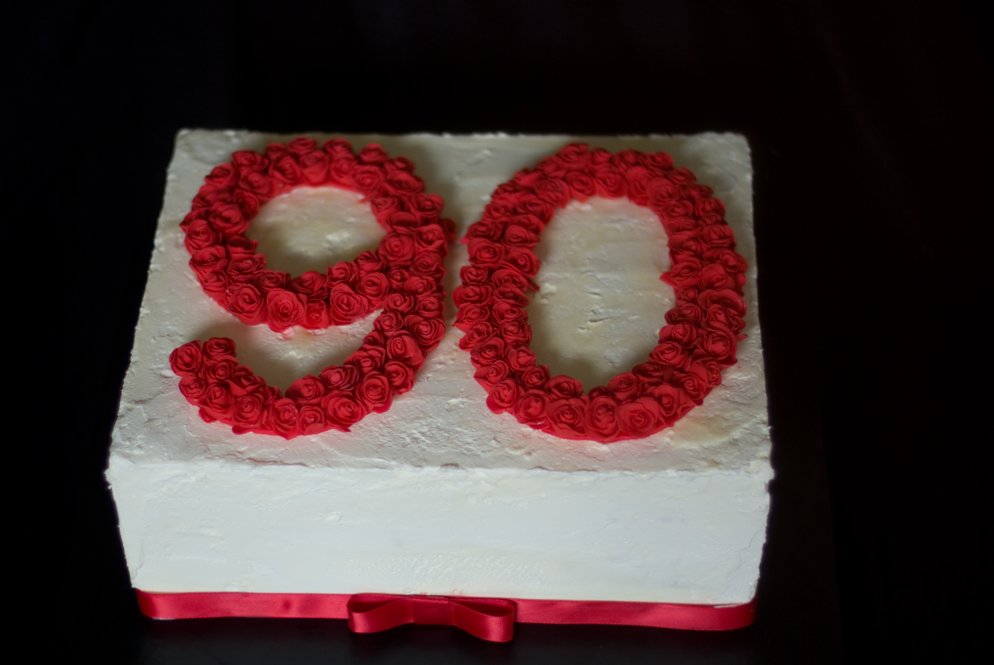 File90th Birthday Cake