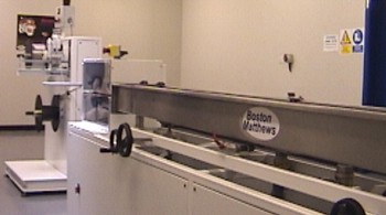 A Boston Matthews Medical Extrusion Line