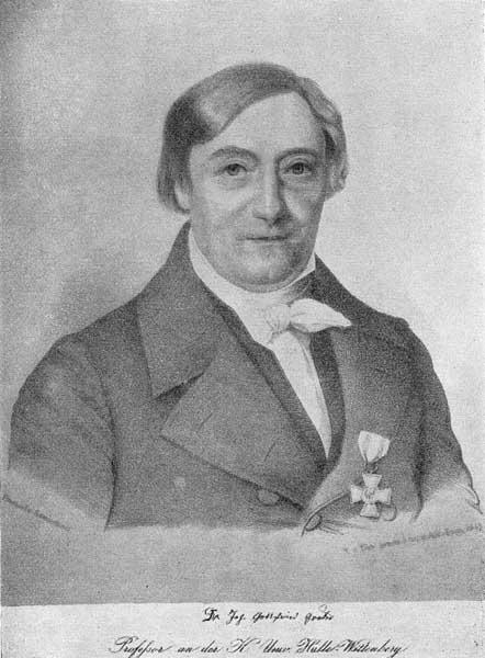 A Kneisel nach A Fulda - Johann Gottfried Gruber (Lithographie 1848)