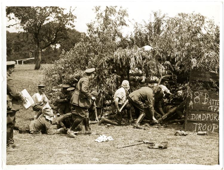 Real Artillería de Campo, cuerpo al que perteneció Mortimer Wheeler