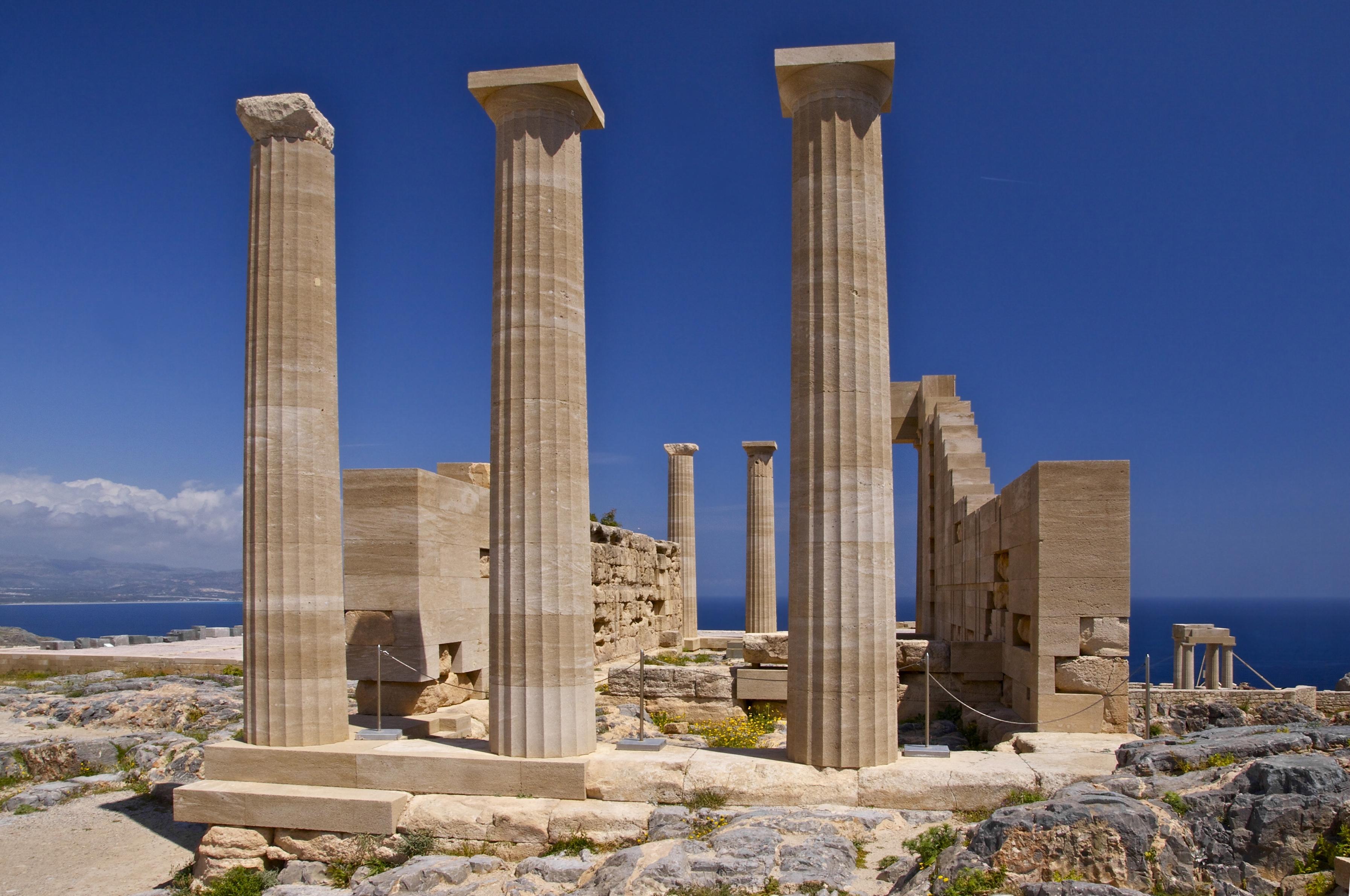 File:Acropolis Lindos Rhodes 1.jpg - Wikimedia Commons
