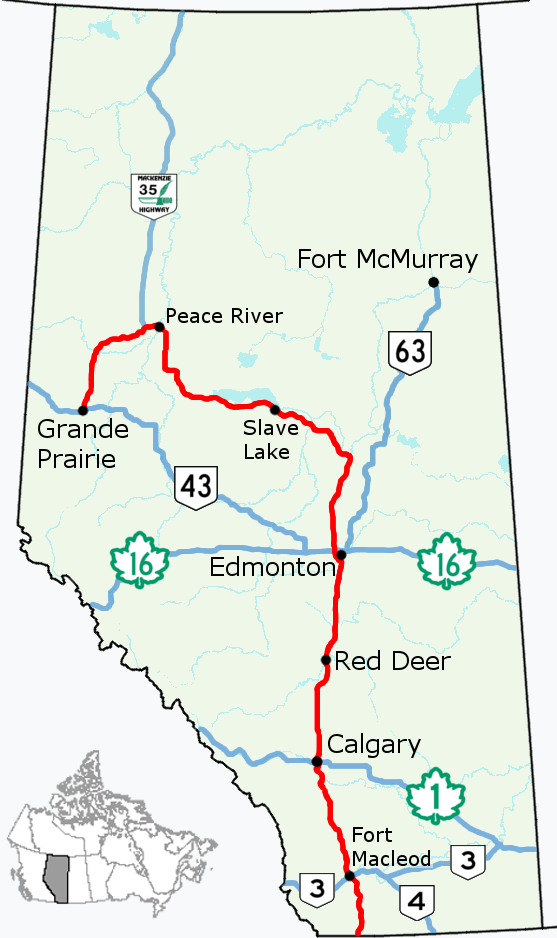 Alberta Highway 2 Wikiwand
