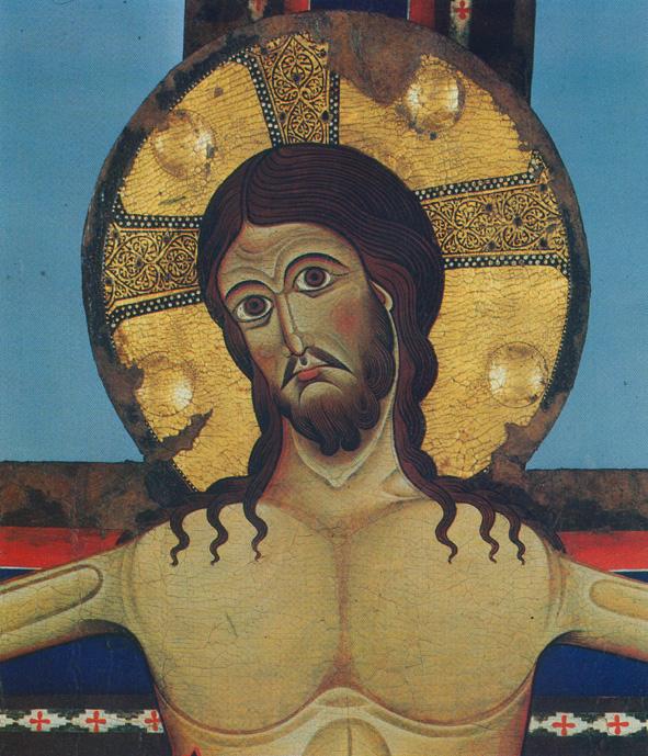 Alberto Sotio Crucifix Detail Spoleto C Cattedrale Di S Maria Assunta