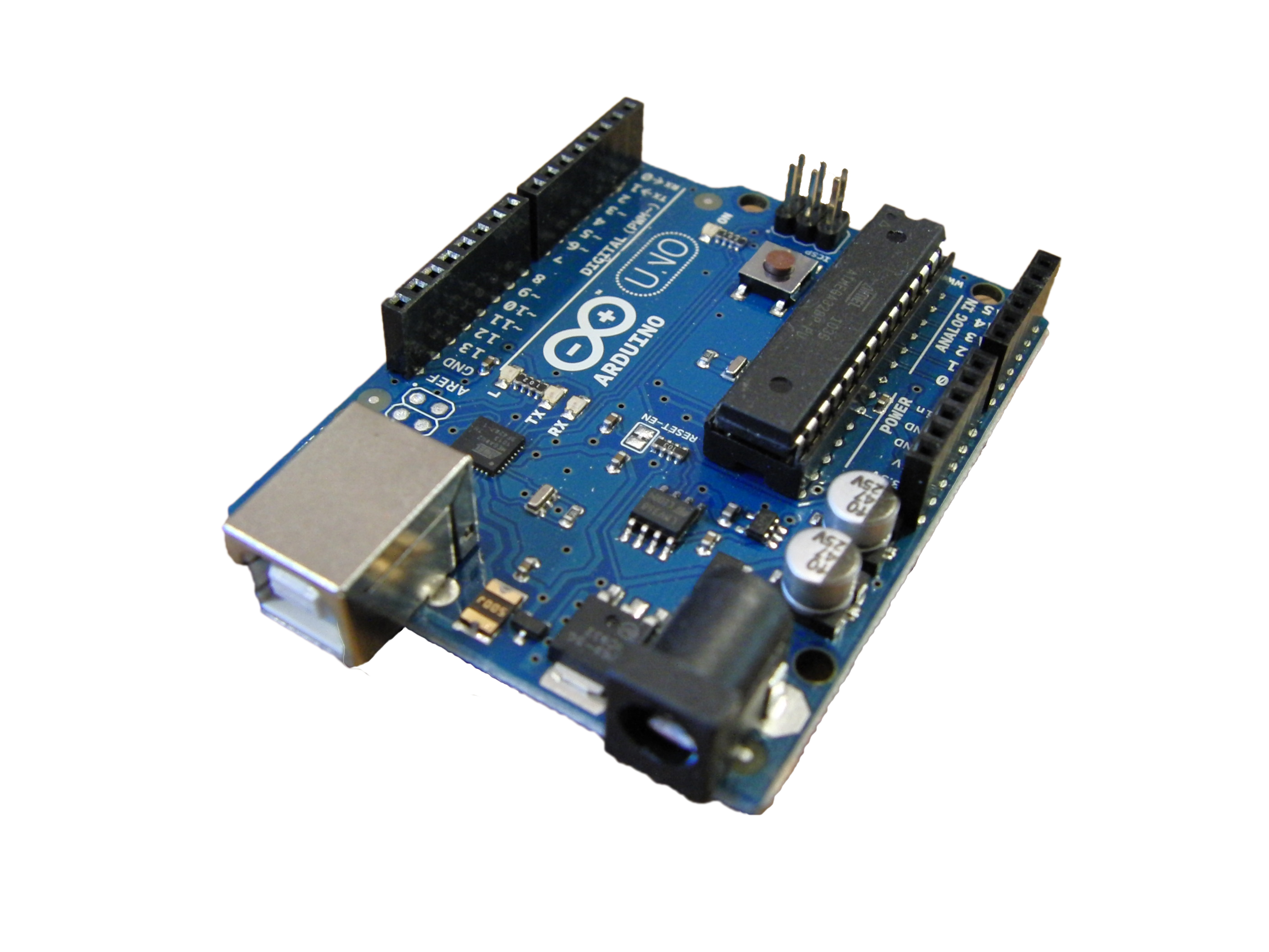 Arduino development boards the uno