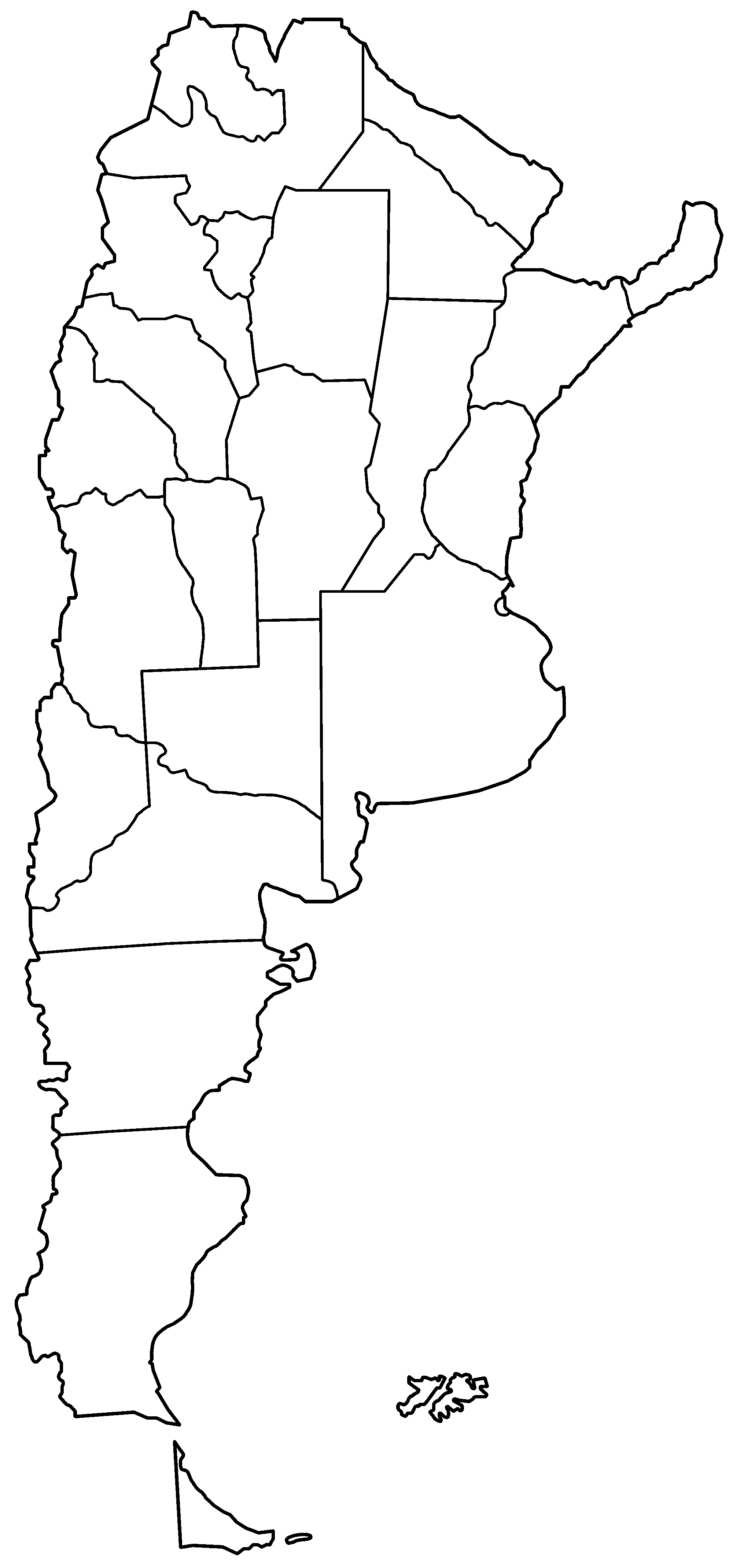 FileArgentina Provinces Blankpng Wikimedia Commons - Argentina map vector free