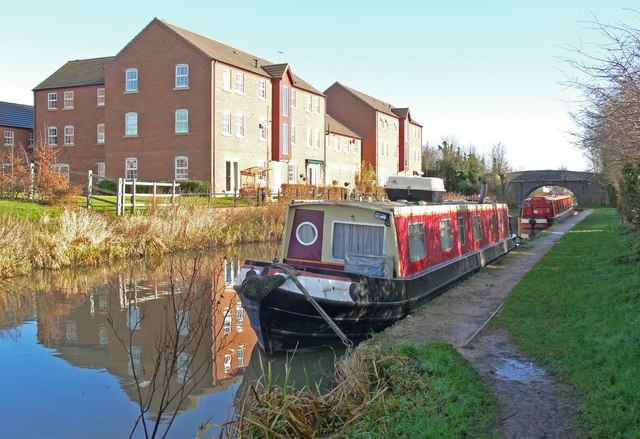 Ashby Canal in Hinckley - geograph.org.uk - 659641
