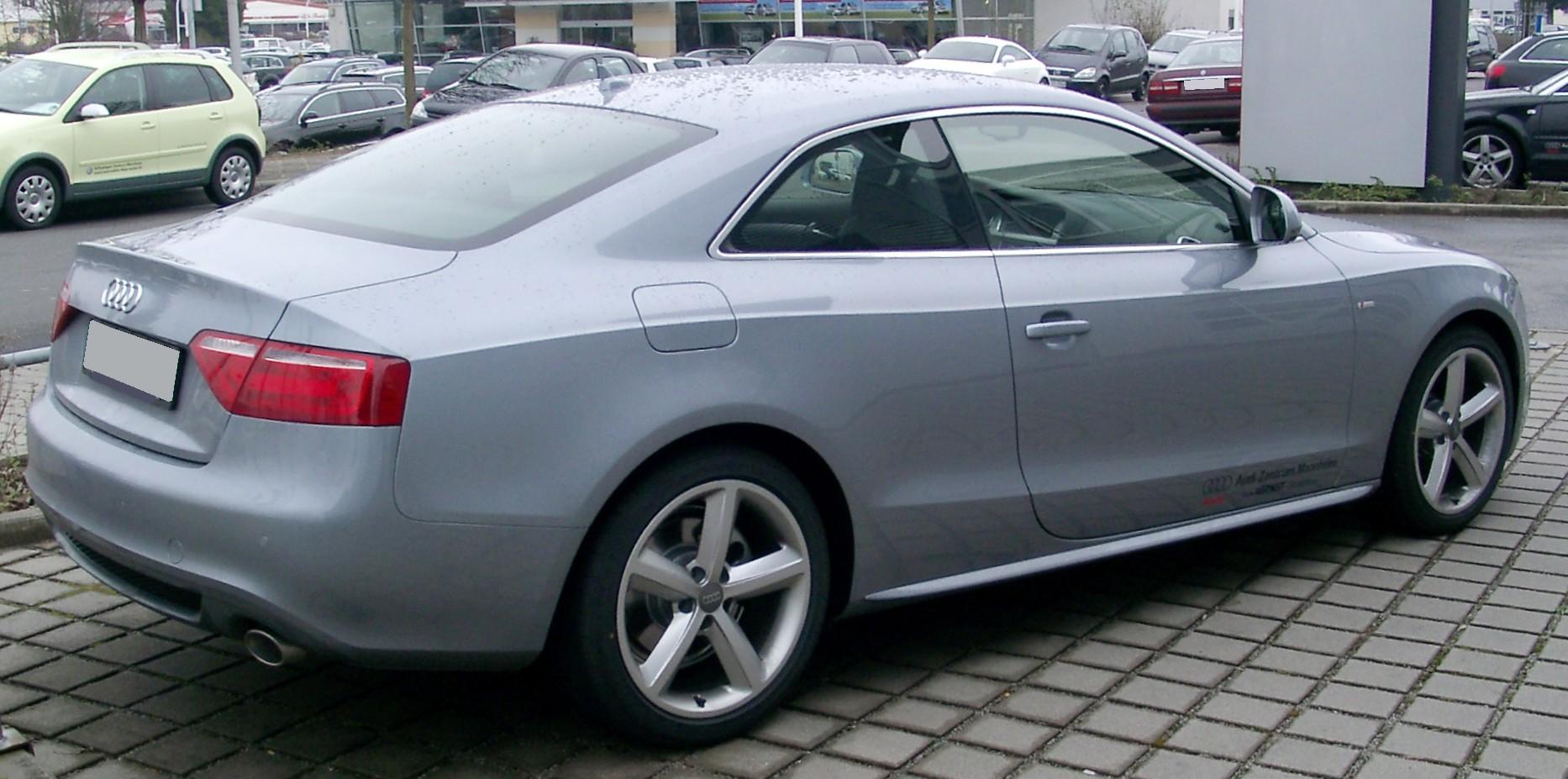 File Audi A5 Rear 20080225 Jpg Wikimedia Commons