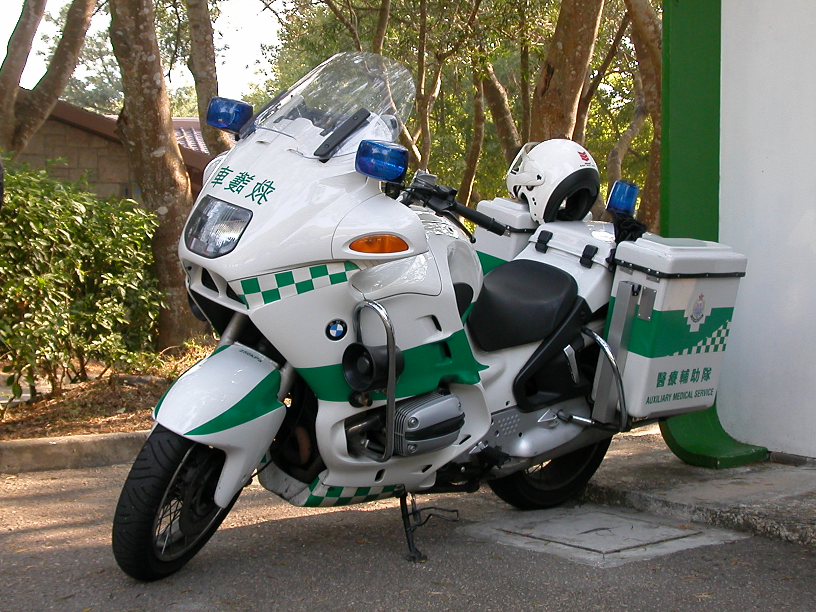 Description auxiliary medical service motorcycle jpg