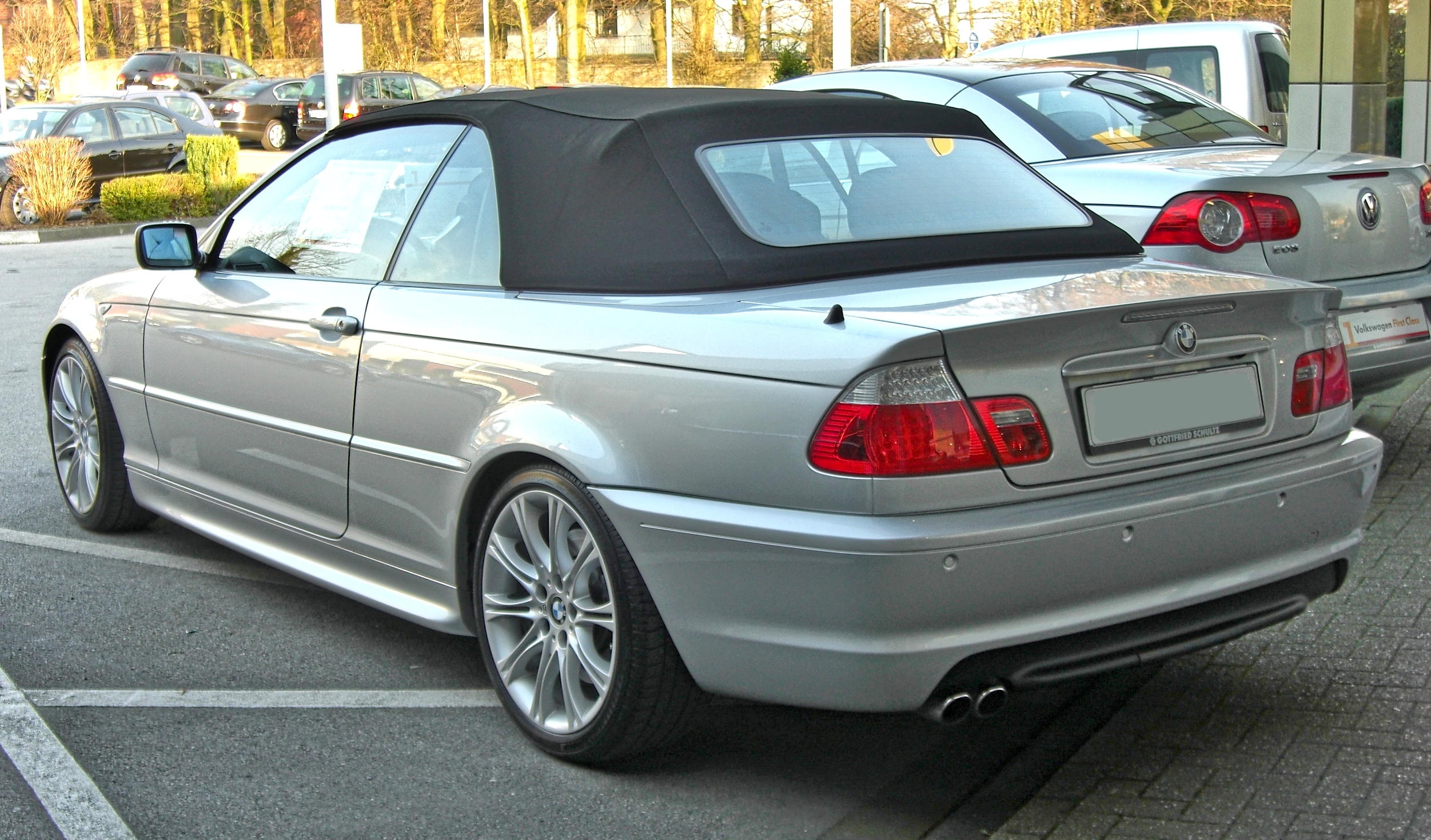 file bmw 3er cabriolet facelift 20090321 wikimedia commons. Black Bedroom Furniture Sets. Home Design Ideas