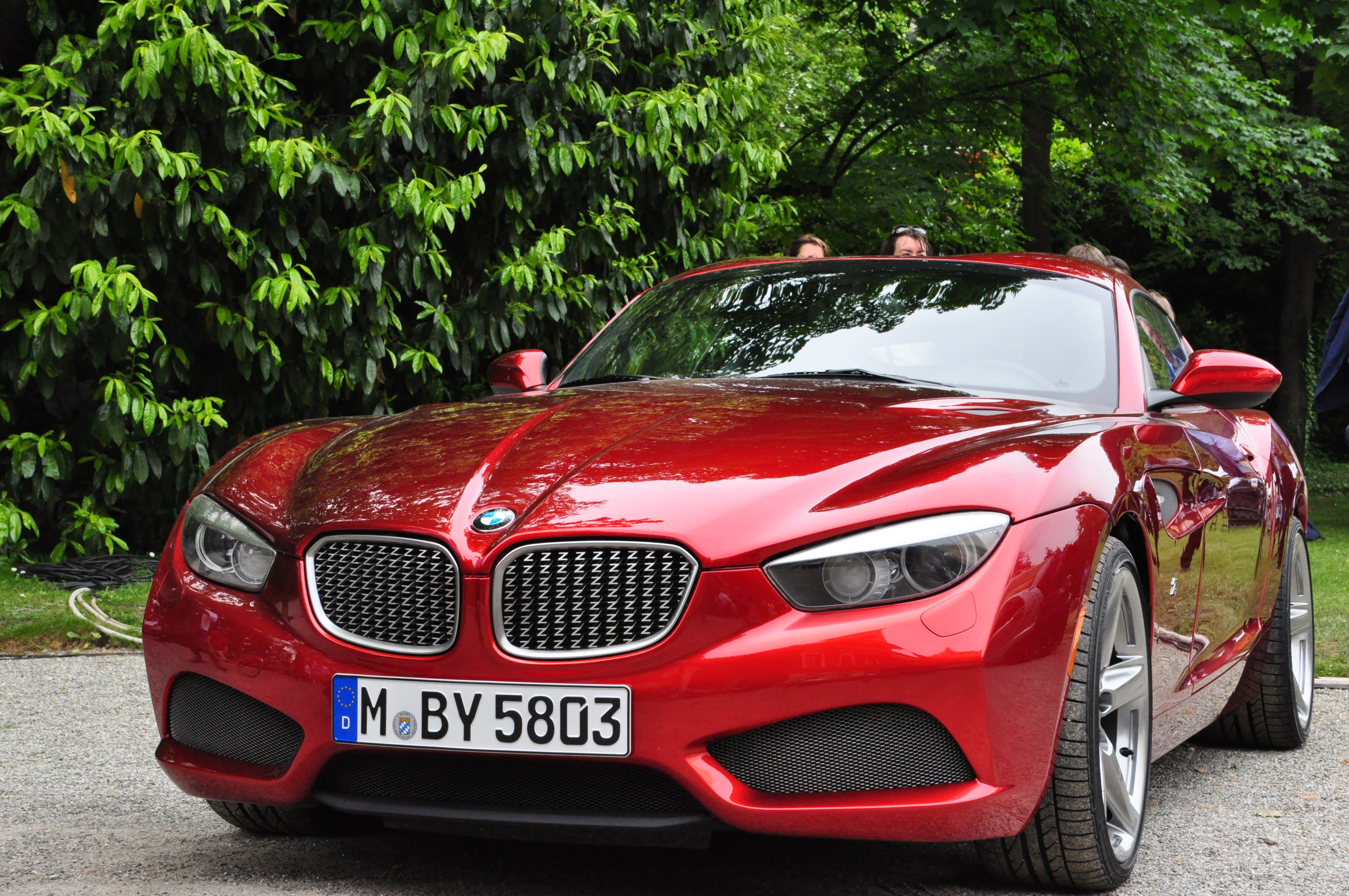 New Bmw Z5 Coupe Seen Out And About