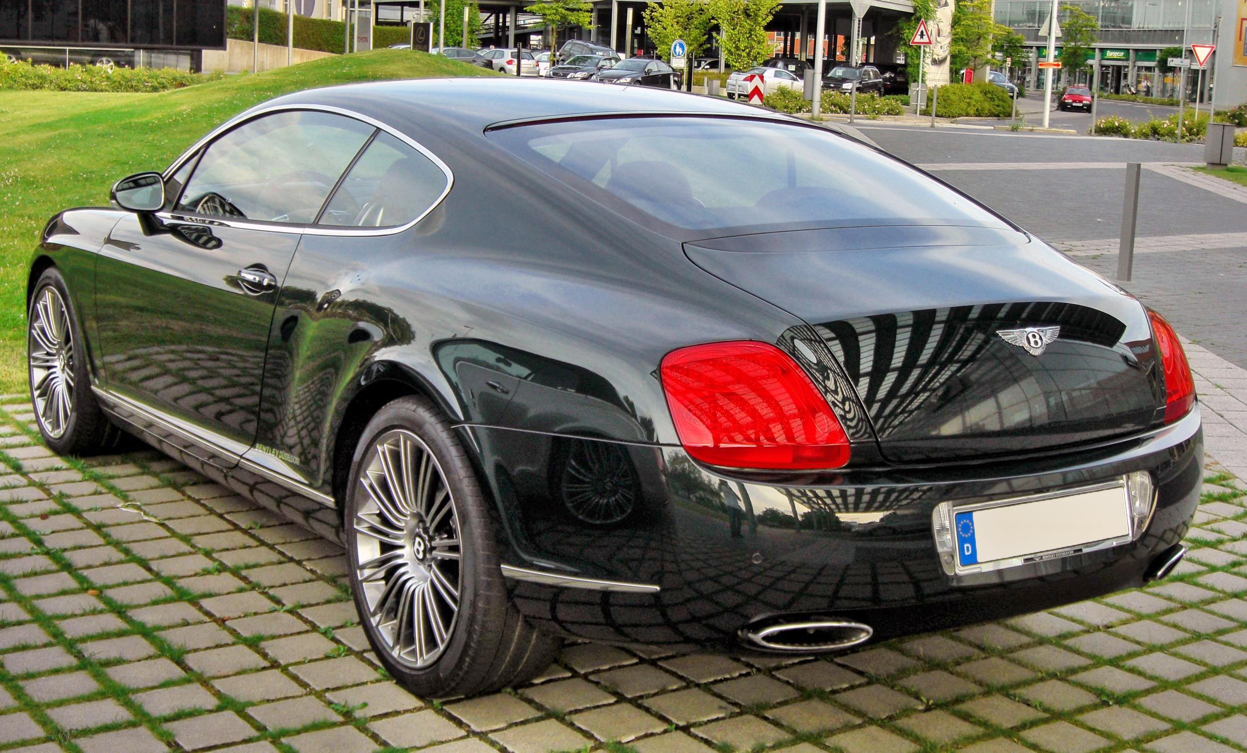 File Bentley Continental Gt Speed 20090720 Rear 1 Jpg Wikimedia Commons