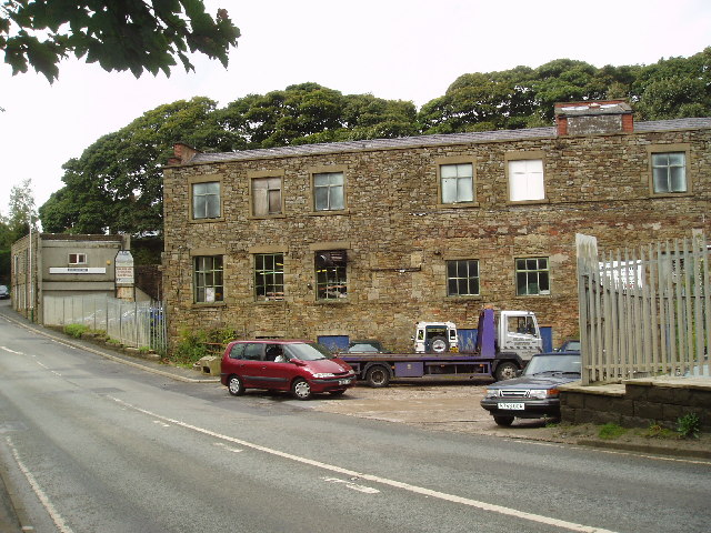 Bridge Mills, Edenfield, Lancashire - geograph.org.uk - 59615