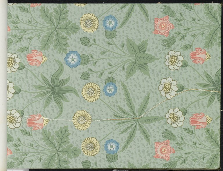 Brooklyn Museum - Wallpaper Sample Book 1 - William Morris and Company - page039