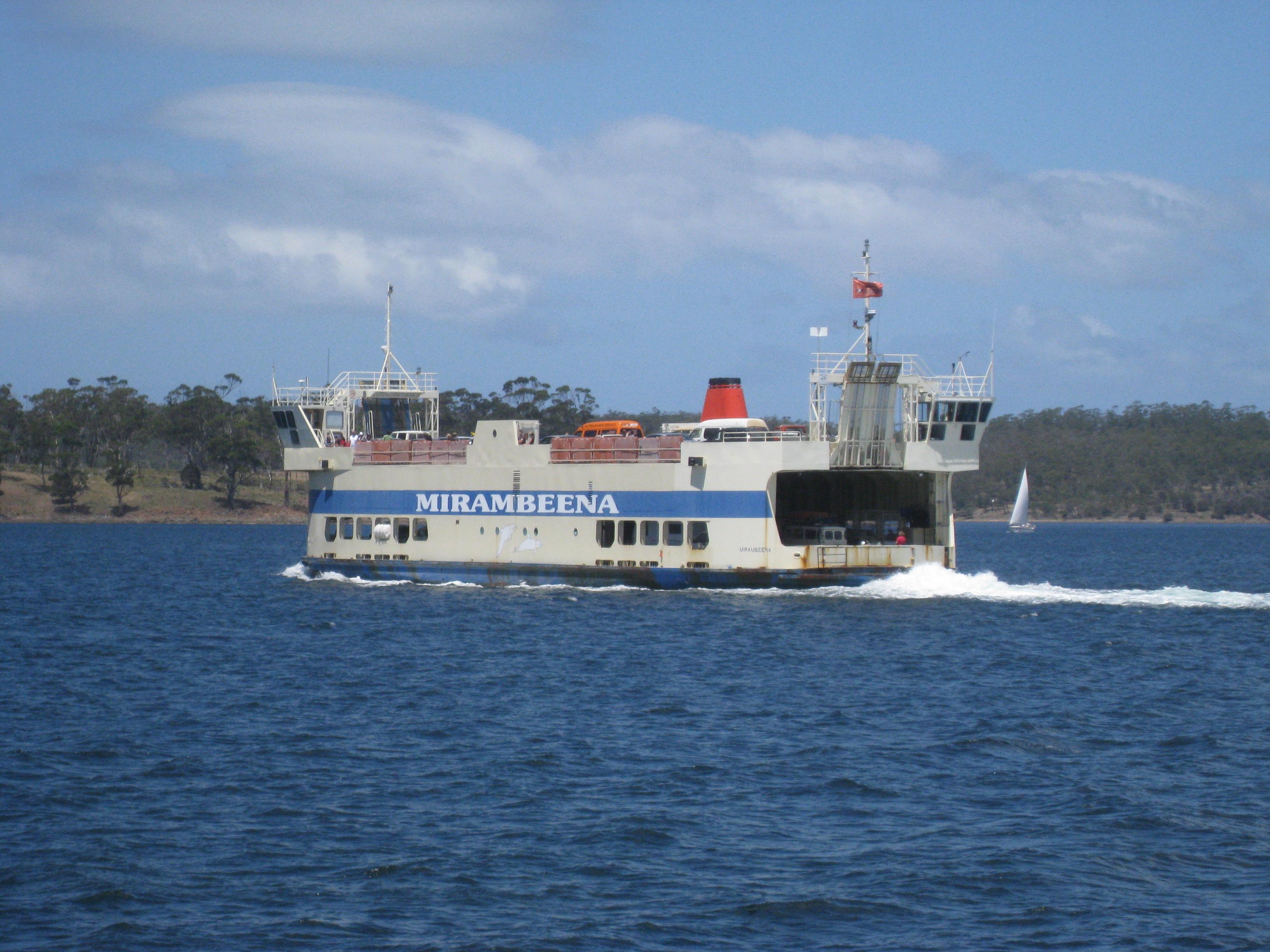 Bruny Island Ferry Timming