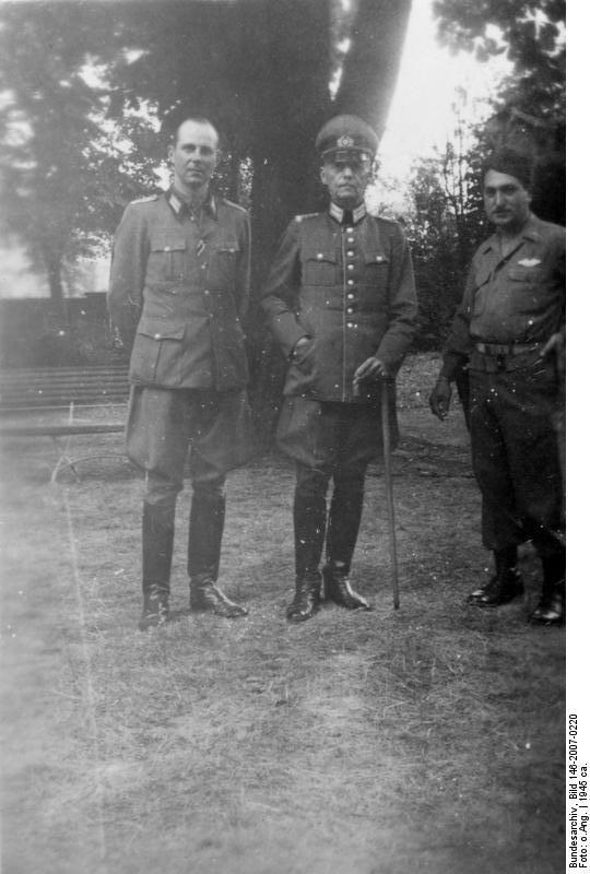 Gerd von Rundstedt as a  POW