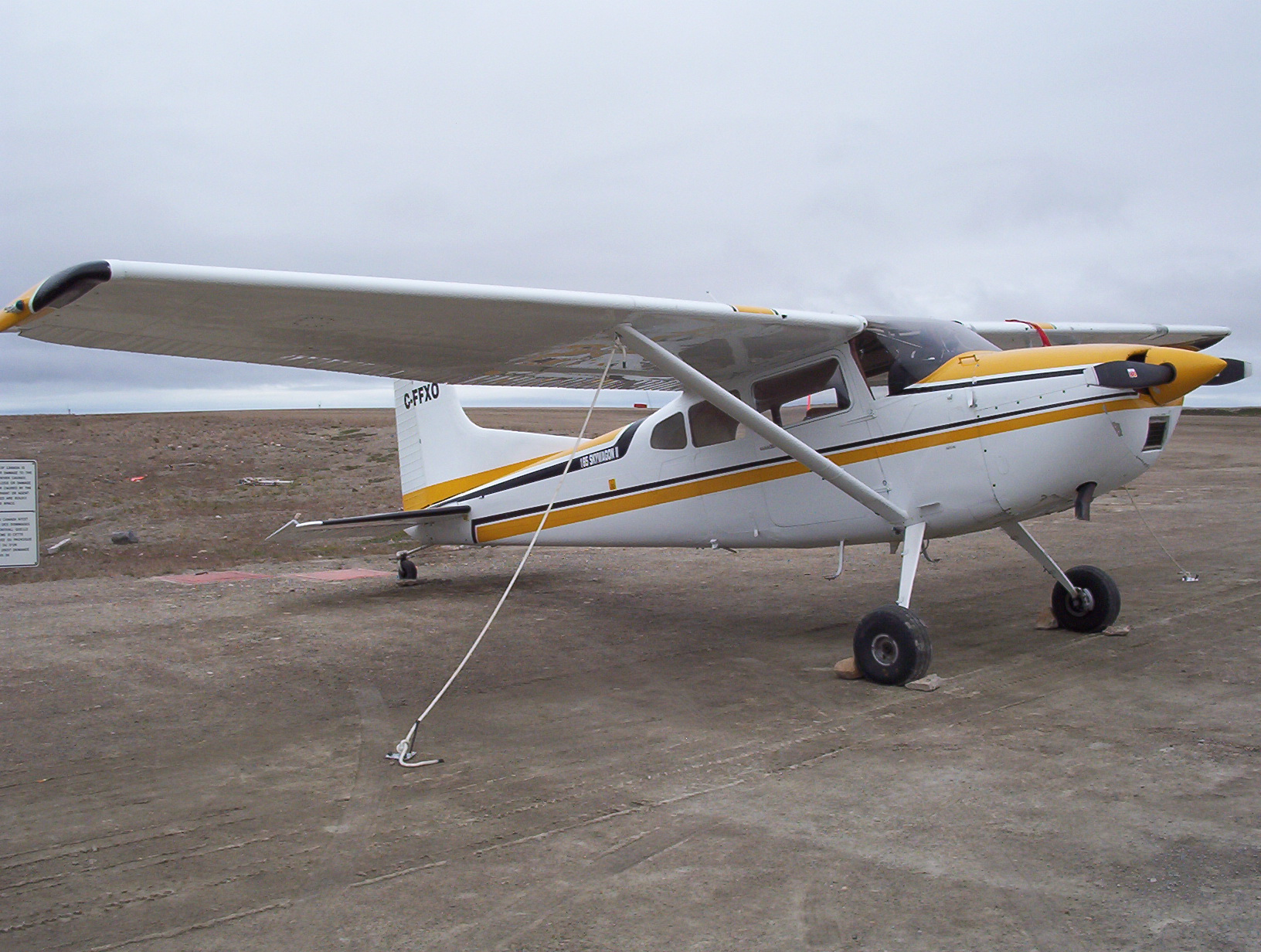 Cessna 185 Skywagon - Wikipedia
