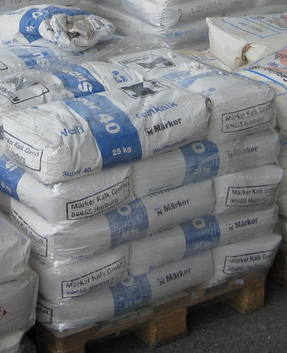fichier calcium oxide powder super 40 packaged in 25 kg wikip dia. Black Bedroom Furniture Sets. Home Design Ideas
