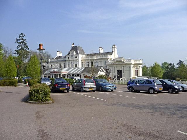 Car Park, Whitewebbs, Enfield - geograph.org.uk - 1260302