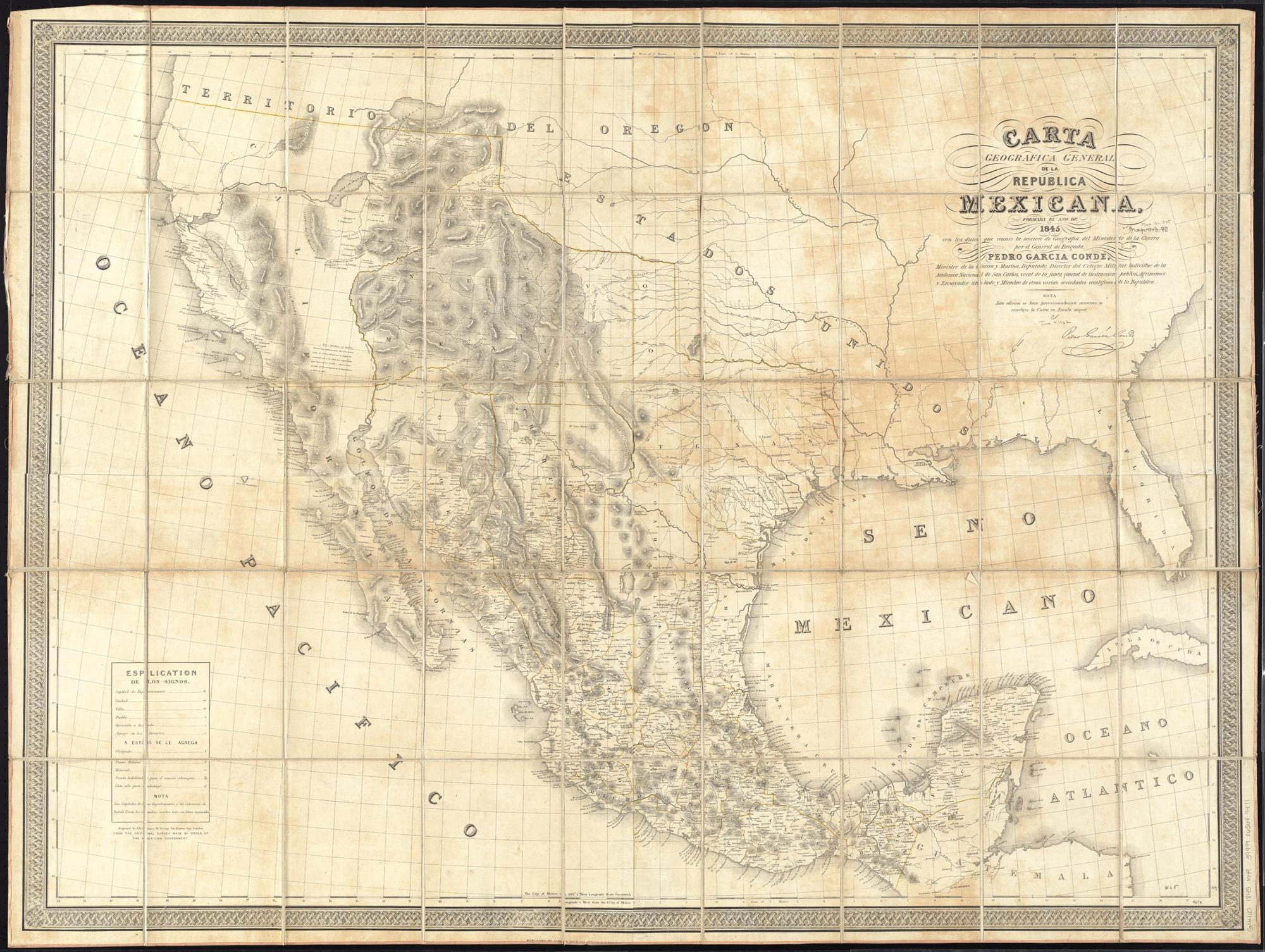 Filecarta Geografica General De La Republica Mexicana 14775304868