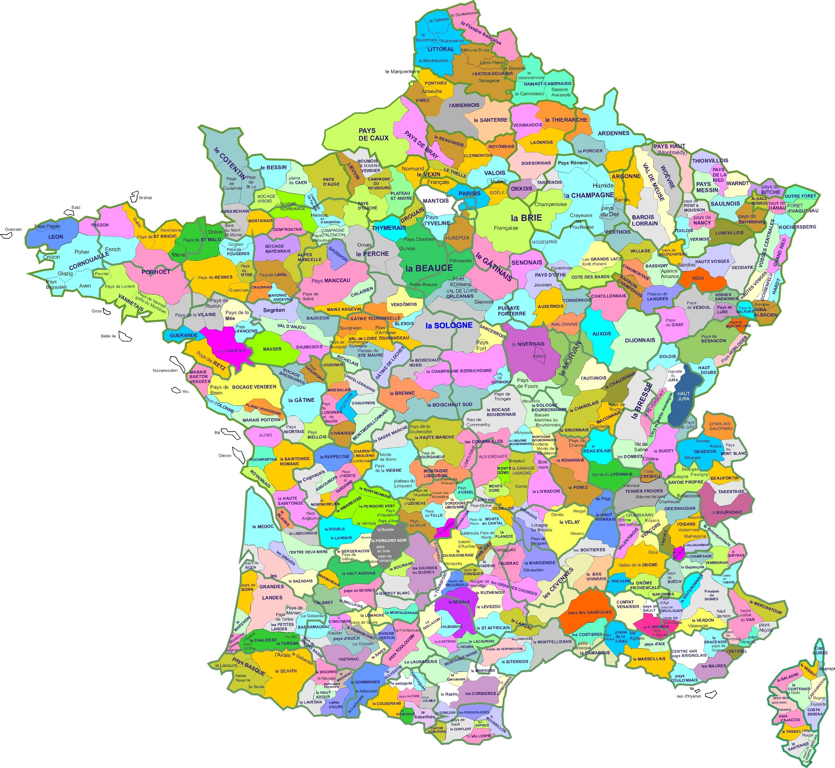 Région naturelle de France - Wikiwand