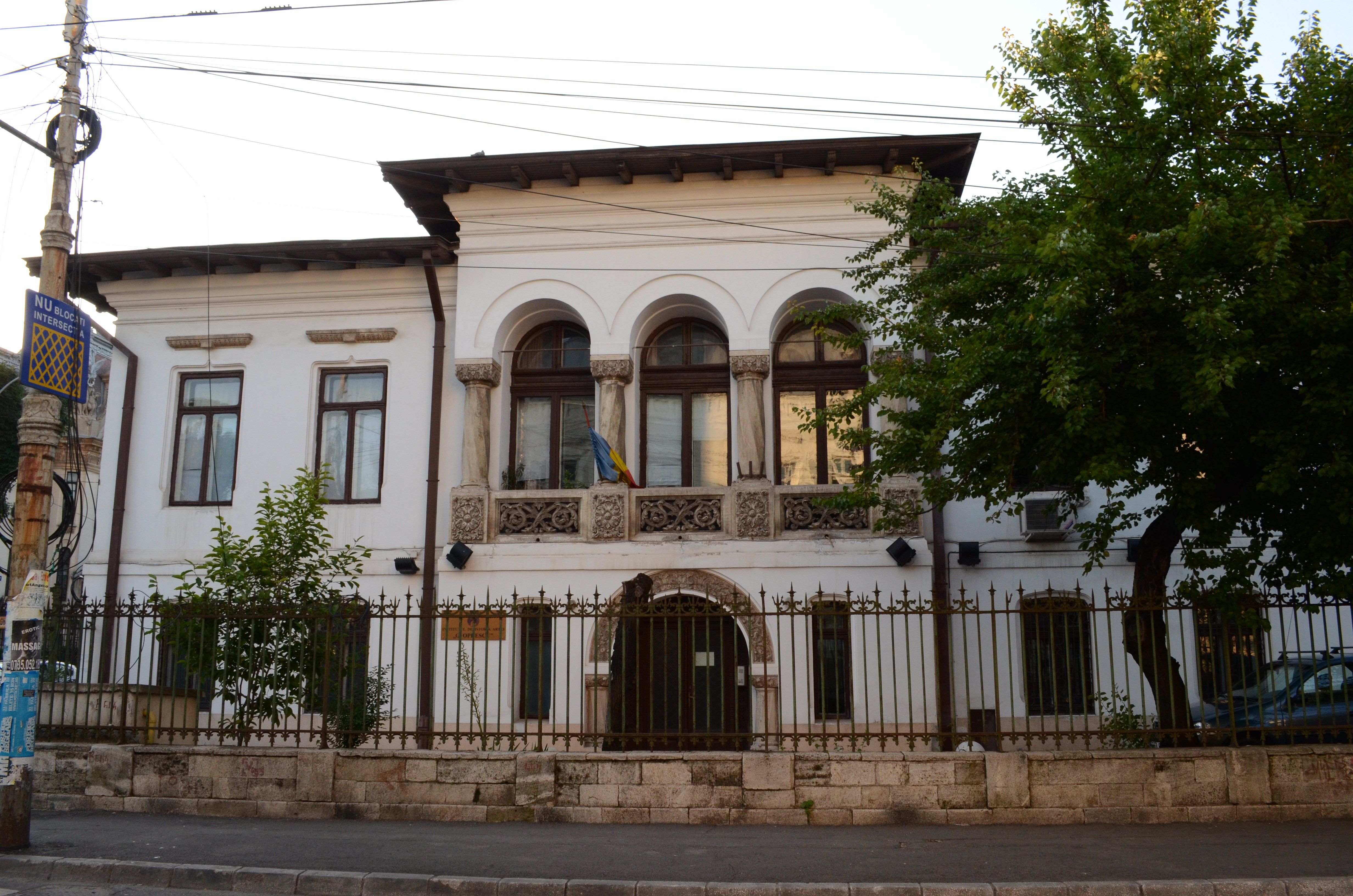 Institute of Art History - Bucharest walking tour | Holiday in Romania