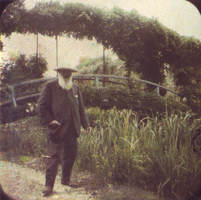 The helpful art teacher the art of the brush for Monet house