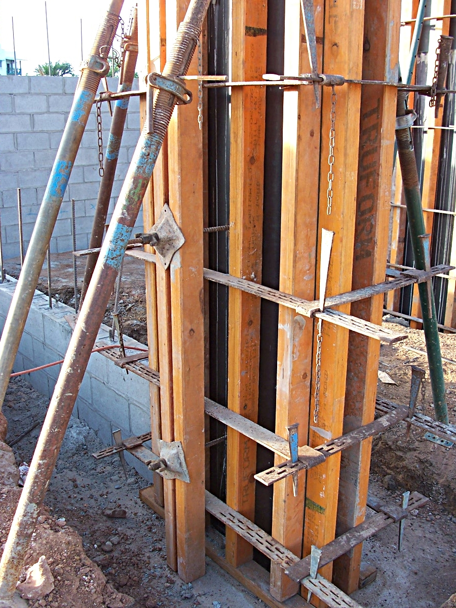 Vertical Shuttering Plywood For Wall : Formwork wikidwelling fandom powered by wikia