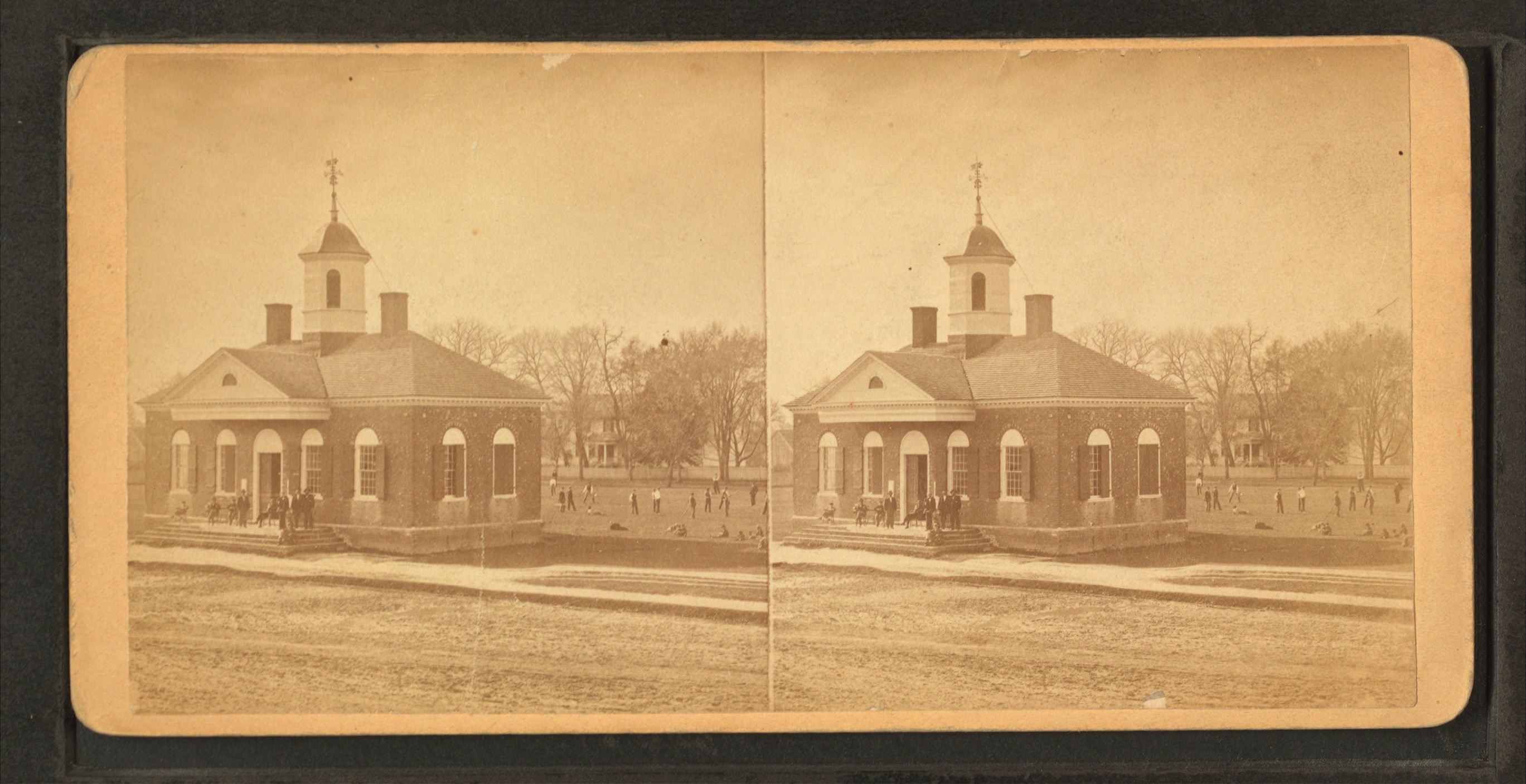 Court House, Williamsburg, Va, by Anderson, D....
